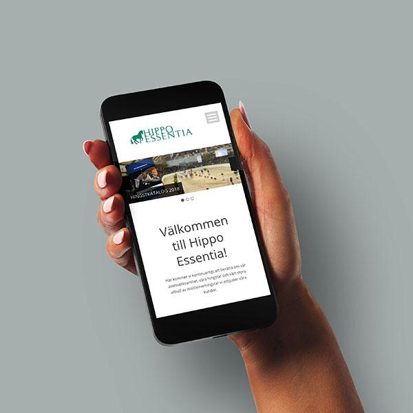 www.hippoessentia.se i mobilen