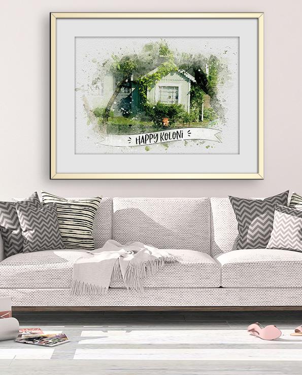Poster Vårt hem
